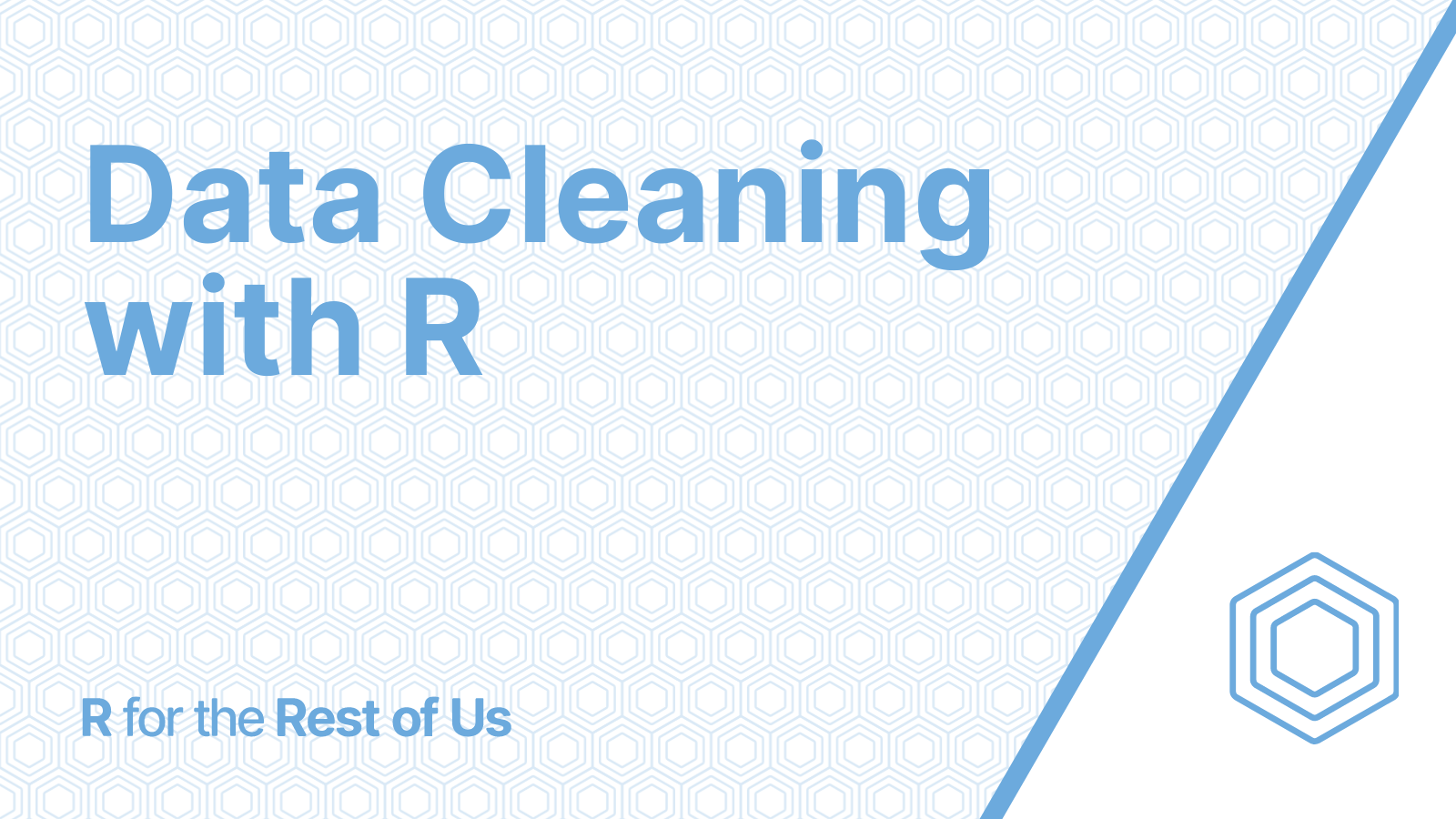 Data Cleaning with R